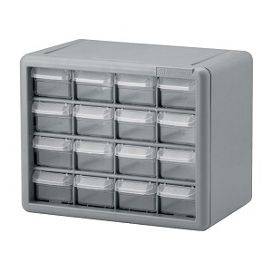 Compact Storage System - 16 Drawers