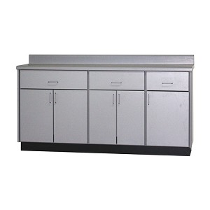 Base Cabinet with 3 Drawers, 5 Doors & 3 Shelves