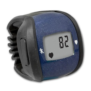 HealthSmart Ring Heart Rate Monitor (Blue)